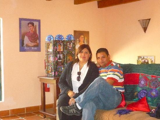 Casa Frida B&B: Loby CASA FRIDA