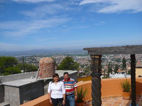 Casa Frida B&B: Bonita vista desde CASA FRIDA