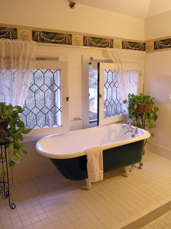 Herlong Mansion Bed and Breakfast Inn: Perhaps we can try the tub next time...