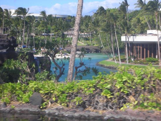 Hilton Waikoloa Village: View of the lagoon
