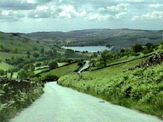 Ambleside, UK: Kirkstone pass shortcut to Lakes District.