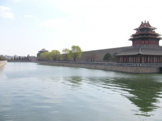 """Palassmuseet: Side view of the """"Forbidden City"""""""