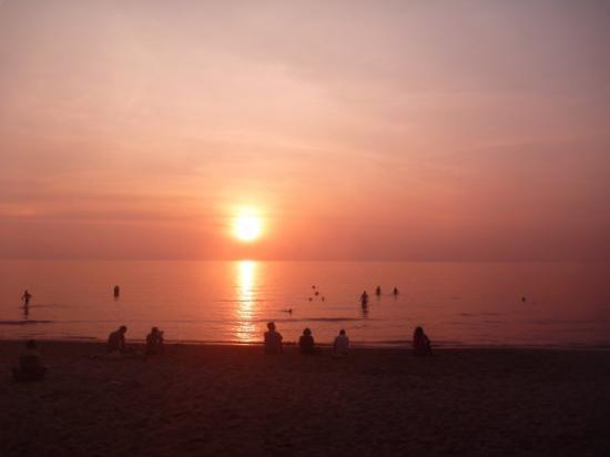 Koh Chang, Thailand: Sonnenuntergang