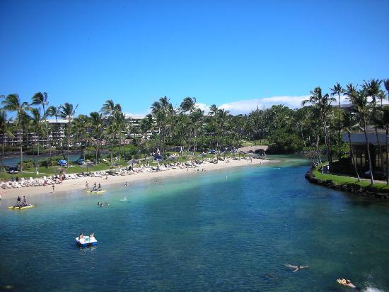 Hilton Waikoloa Village: The lagoon, so much fun!
