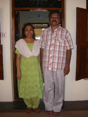 Snehadhara Homestay: Mini and Salim