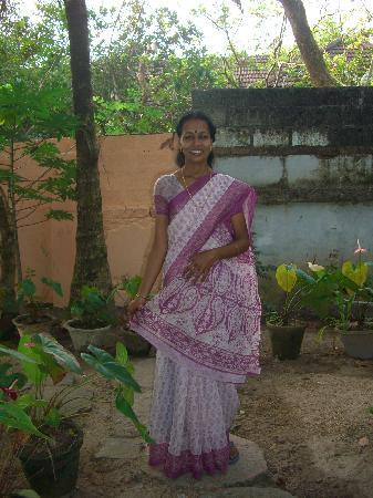 Snehadhara Homestay: My lovely masseuse!