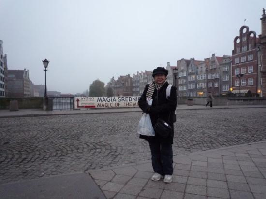 In Gdansk where the solidarity movement formed, North of Poland, Nov'08