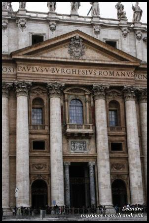 Peterskirken: San Pietro (18.2.2010)  VATICAN CITY