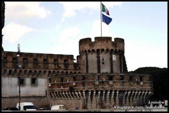 Museo Nazionale di Castel Sant'Angelo: Castel Sant' Angelo (18.2.2010)  ROME