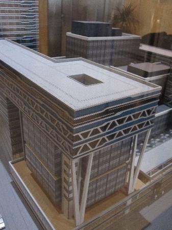 Babylon Hotel Den Haag: model of developments 'around' the hotel