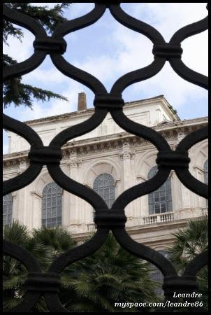Palazzo Barberini, Via delle Quattro Fontane (18.2.2010)  ROME