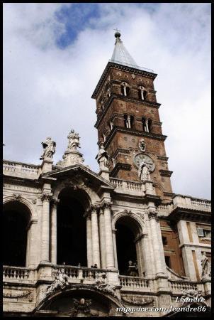 Basilica di Santa Maria Maggiore: Santa Maria Maggiore (18.2.2010)  ROME
