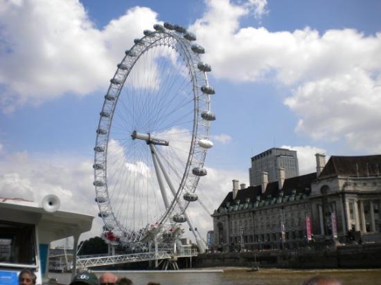 Bilde fra The London Eye