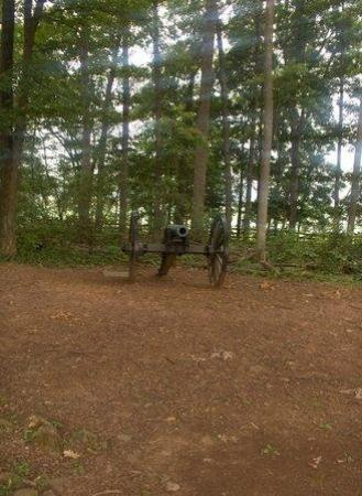Gettysburg, PA: A Cannon