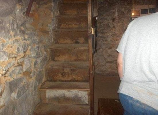 Jennie Wade House: The Cellar Stairs