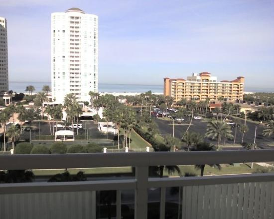 Clearwater Beach Marriott Suites on Sand Key: View from our hotel