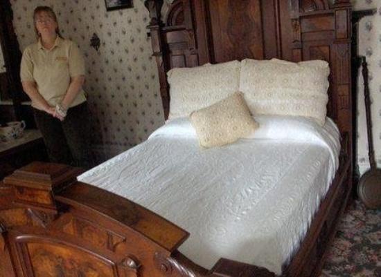 Lizzie Borden House: The Bedroom Where Lizzie's Stepmom was Killed