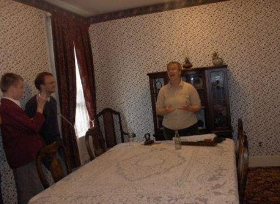Lizzie Borden House: The Dining Room