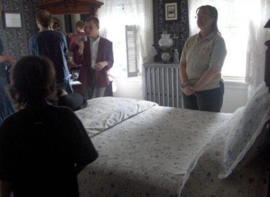 Lizzie Borden House: Master Bedroom