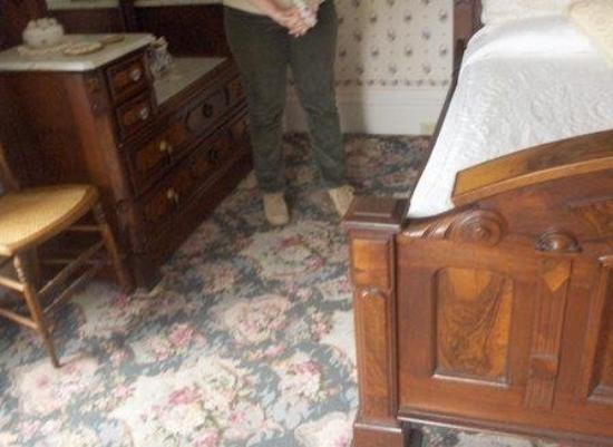 Lizzie Borden House: The Area Where Lizzie's Stepmom was Killed