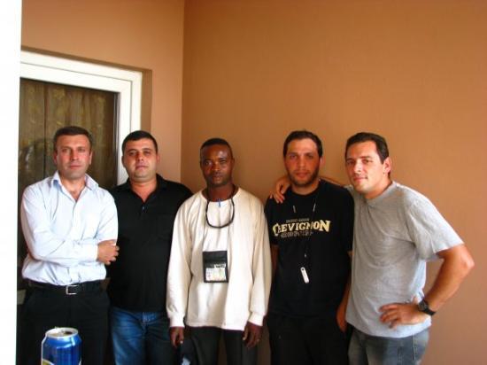 Erbil, Irak: Survey team