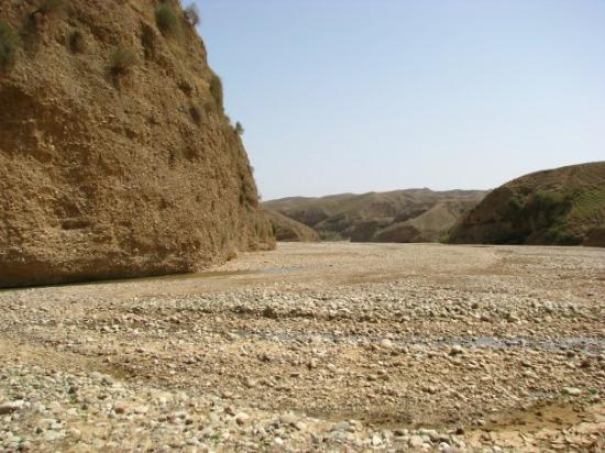 Erbil, Irak: River bed