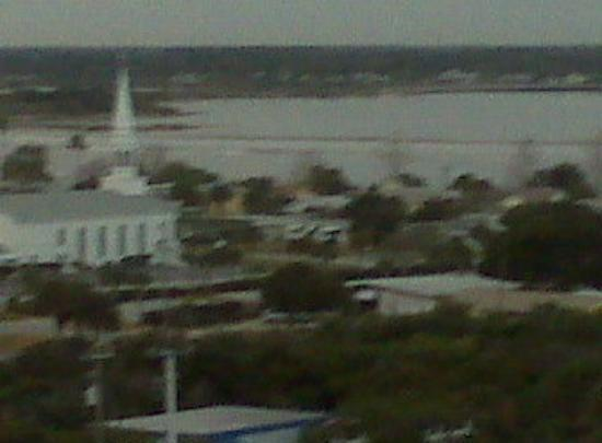 Other side of the hotel in Daytona beach