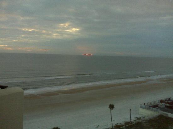Sunrise in Daytona Beach 2/20/10