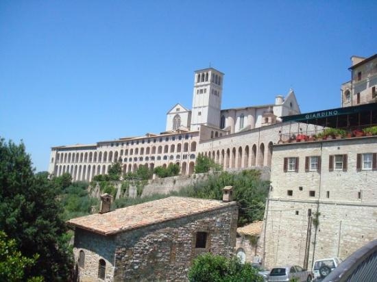 Assisi, Italy.  Basilica of St. Francis.