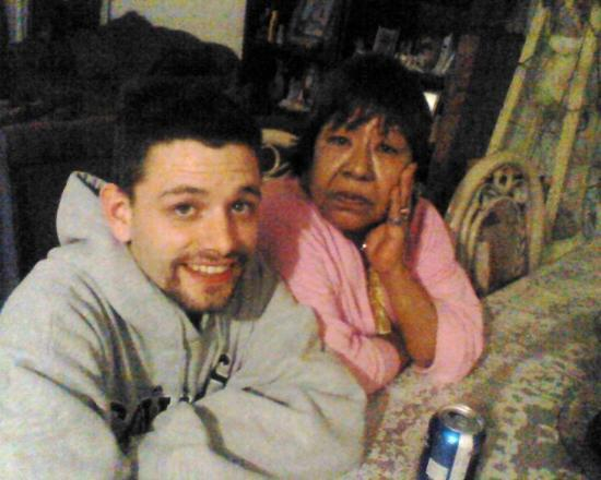 Эль Пасо, Техас: Jaime and Grandma !
