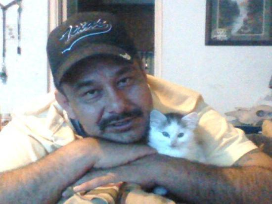 El Paso, TX: Me and my new Cat Tequila !