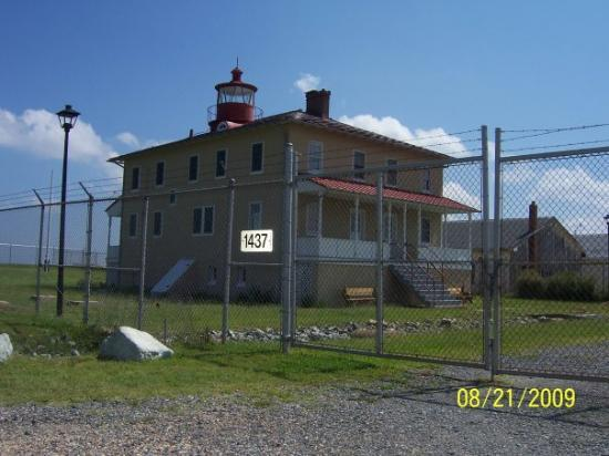 Great Mills, MD: Haunted light house.