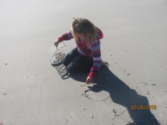 Jacksonville, FL: Wonder what she is writing....