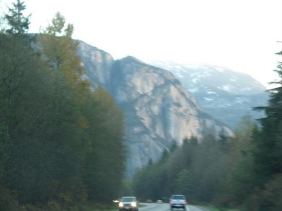 Drive from Vancouver to Whistler