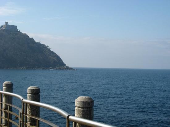 San Sebastián - Donostia, Spania: divino el mar