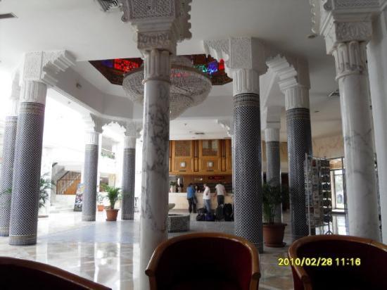 Hotel Riviera: Lobby in Hotel