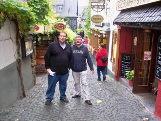 Ruedesheim am Rhein, Tyskland: Rudesheim am Rhain, Alemania
