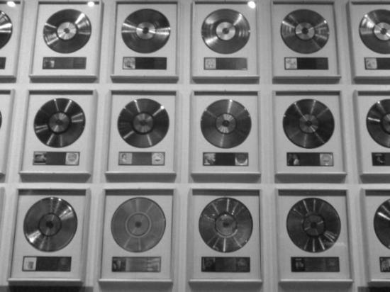 Nashville, TN: record wall