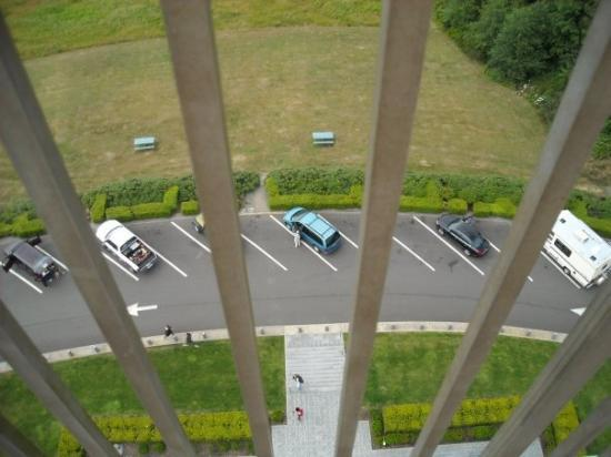 Astoria Column: It's a long way down.