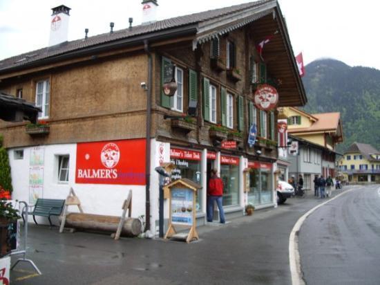 Interlaken, Sveits: Balmer's...awesome!!! Interlocken Switzerland!