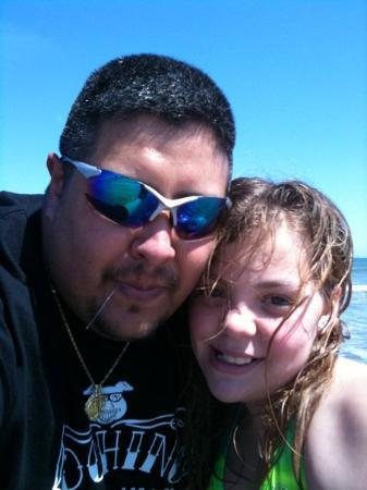 South Padre Island, TX: me and jolie