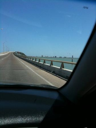 South Padre Island, TX: the bridge to S. Padre