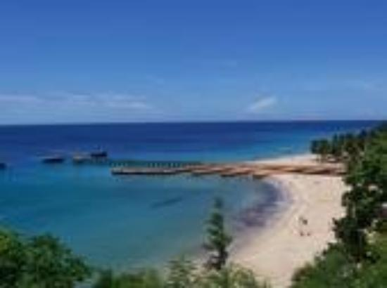 Aguadilla, Puerto Rico: Crashboat, sand bottom!