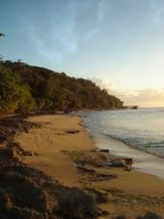 Aguadilla, Puerto Rico: Surfers Beach sunset