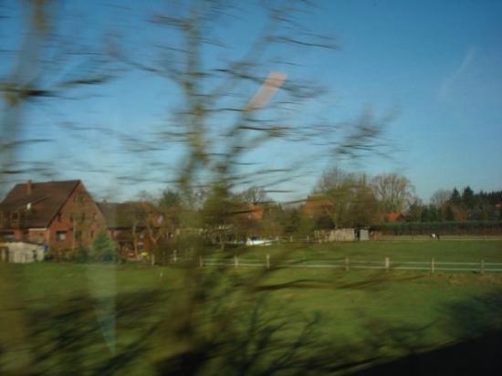Oldenburg, Tyskland: Country-sdie in northern Germany