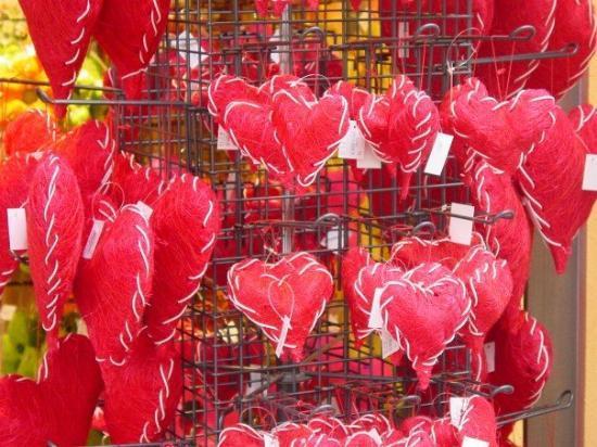 Oldenburg, Tyskland: It was Saint Valentine's day feeling everywhere