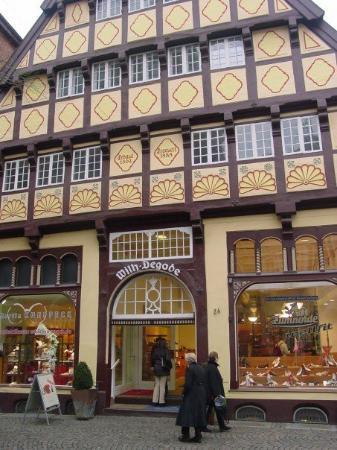Oldenburg, Tyskland: An old house buit in 1502