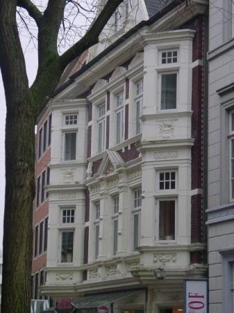 Oldenburg, Tyskland: Some detail of the old German architecture
