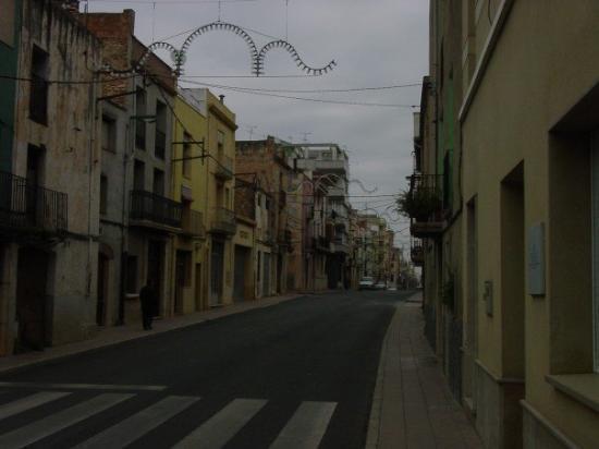 Ulldecona, Spania: The main street. Feb 04, 2006