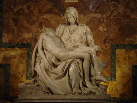 Roman Curia: Michelangelo's Pietá
